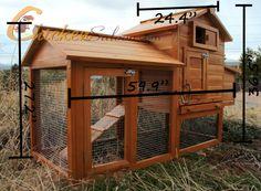 The Saloon Backyard Chicken Coop Measurements