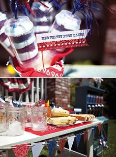 Forth of July Block Party or Throw a Memorial Day dinner party for your family and friends!