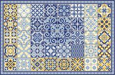 Beautiful, free, and LEGAL cross-stitch patterns, found at Gazette94 blog.