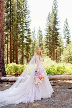 Synonymous with fairytale weddings, the ballgown wedding dress is surely the most romantic gown of all time!