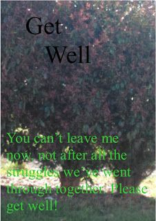 Ecards and Greeting Cards: Get Well