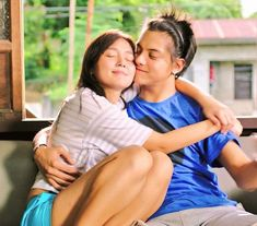 nope, this is not George and Primo anymore. This is Kathryn and Daniel Queen Of Hearts, Blue Hearts, Pinoy Movies, Daniel Johns, Daniel Padilla, John Ford, Kathryn Bernardo, Romance Movies, Bff Pictures