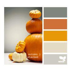 bedroom color palate minus the bright orange...