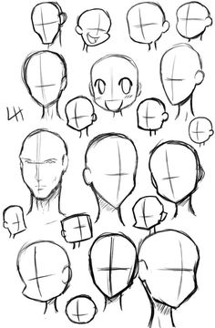 Body Drawing Tutorial, Sketches Tutorial, Drawing Heads, Drawing Base, Deviantart Drawings, Drawing Expressions, Art Inspiration Drawing, Anime Drawings Sketches, Cartoon Art Styles