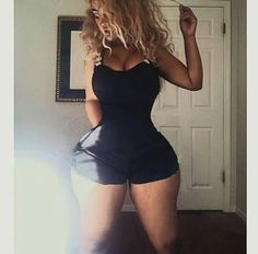 FakeSleep : Ain't No Photoshop Bih. Thin Waist, Voluptuous Women, Perfect Woman, Sexy Women, Bodysuit, Tumblr, Booty, Lady, Womens Fashion