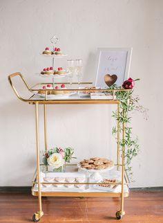 Marsala & Rose Quartz Valentine's Dinner - Inspired by This