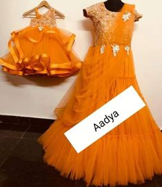 Mom Daughter Matching Outfits, Gowns For Girls, Frock Design, My Mom, Frocks, Formal Dresses, Couples, Quotes, Shop