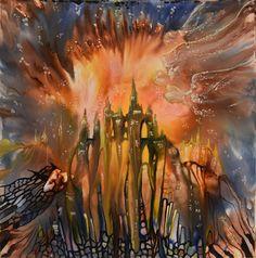 encaustic art Fantasy