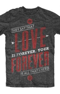 Love Is Forever Tee T-Shirt - Sleeping With Sirens T-Shirts - Official Online Store on District Lines