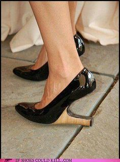 Different Perspective on Heals of Shoes