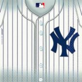 New York Yankees Lunch Napkins 36ct- MLB Teams- Sports Theme Party- Theme Parties - Party City