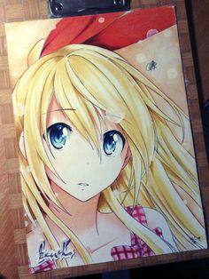 Chitoge Kirisaki by kazukizein.deviantart.com on @deviantART