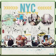 Travel scrapbook layouts backgrounds 57 ideas for 2019 Travel Scrapbook Pages, Vacation Scrapbook, Disney Scrapbook, Scrapbook Page Layouts, Scrapbook Paper, New York Scrapbooking, Scrapbooking Digital, Reptiles, Project Life Travel
