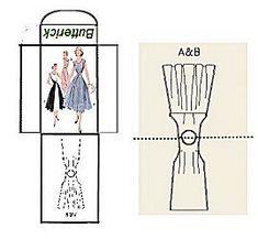 Mini Sewing pattern