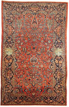 Persian Isfahan rug, late 19th c.