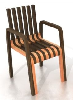 Frame Chair by Luis Porem