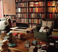 This is a library where the books don't just sit on the shelves, the books are read and enjoyed.