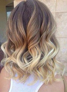 2015 Medium Length Hairstyles Medium hair curls 2014-2015