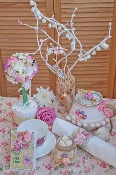 Shabby Tea Party - Scrapbook.com