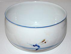Stouby, Bowl in porcelain, own studio Denmark. W: 25. H: 14 cm.