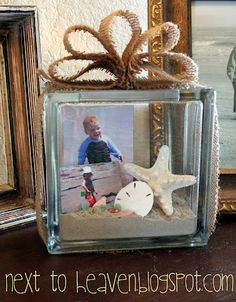 Next To Heaven: Scrappin' Fun _ Beach Decor #Vacation Memories #Shadow Box #DIY Crafts