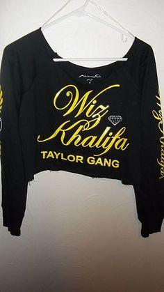 Wiz Khalifa long sleeved crop top.