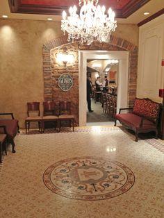 Tutto Italia Epcot - Italian terrazzo tiles and mosaic Grandinetti