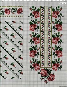 Thrilling Designing Your Own Cross Stitch Embroidery Patterns Ideas. Exhilarating Designing Your Own Cross Stitch Embroidery Patterns Ideas. Cross Stitch Rose, Cross Stitch Borders, Cross Stitch Flowers, Cross Stitch Charts, Cross Stitch Designs, Cross Stitching, Cross Stitch Patterns, Folk Embroidery, Beaded Embroidery