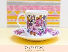 60s Elizabethan Fine Bone China - Retro and Vintage China, Glassware and Kitchenalia - yay retro!