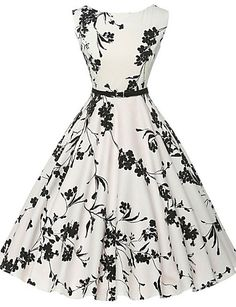 Cheap vestidos plus, Buy Quality dress vestidos directly from China vintage rockabilly dress Suppliers: Women Summer Dress 2017 plus size clothing Audrey hepburn Floral robe Retro Swing Casual Vintage Rockabilly Dresses Vestidos