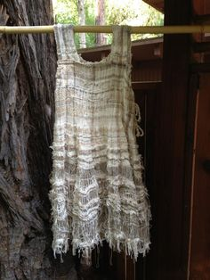 CENTERING WITH FIBER: Jill Nickolene Sanders : Saori Santa Cruz ,Fiber Artist, photos of the yardage and such at the site. Nice site for weaving inspiration for sure!