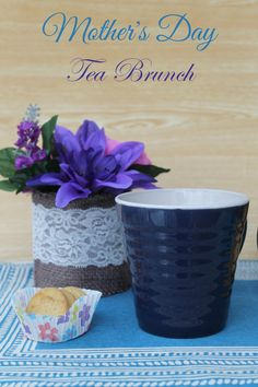 Looking for a fun idea for a Mother's Day brunch that doesn't require any cooking? Check out this cute tea brunch idea made special with Dollar General. (sponsored)