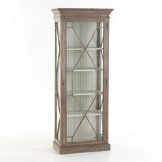 W5964 Contemporary Glass Cabinet Cabinets