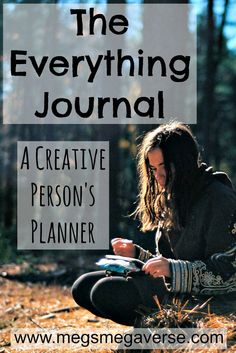 The Everything Journal - A Creative Person's Planner. Imagine having everything in one place, including art.