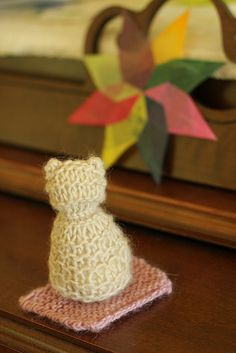 Waldorf 1st garde handwork : kitty and mat by Frontier Dreams, via Flickr