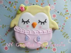 Baby Owl Cookie
