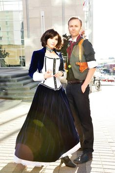 Elizabeth and Booker (Bioshock Infinite) cosplay