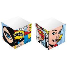 BLOCO DE ANOTAÇÕES CUBO – DC COMICS