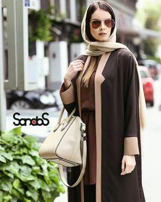 Abaya Fashion, Fashion Dresses, Modest Outfits, Casual Outfits, Iranian Women Fashion, Dress Anak, Dress With Cardigan, Dress Sewing Patterns, Mode Hijab