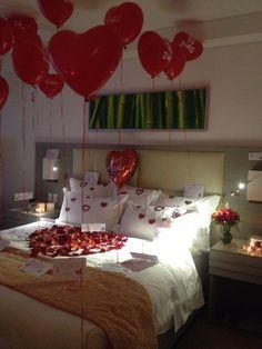 Como adornar la habitaci n para una noche rom ntica for Cuartos decorados para una noche de amor