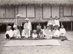 Sawbwa and his family - Mong Pawn, Burma