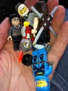 How to trade LEGO figures at LEGOLAND Florida?