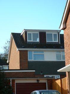 Flat roof dormer by Attic Designs Ltd
