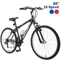 "GTM 26"" Mountain Bike 18 Speed Bicycle Shimano Hybrid - http://mountain-bike-review.net/products-recommended-accessories/gtm-26-mountain-bike-18-speed-bicycle-shimano-hybrid/ #mountainbike #mountain biking"