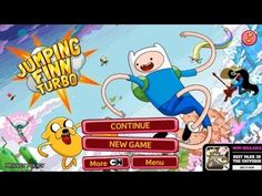 Jumping Finn Turbo Android App Review Video (Gameplay)