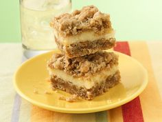 Easy Lemon Creme Bars...read comments re sweetened condensed milk suggestion