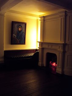 """LANCE CARDINAL: """"The Ghost and Mrs. Muir"""" Roombox Film Miniature"""