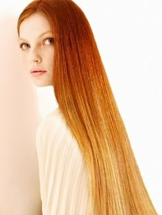 "Some people have ridiculous ""thinspo""- I guess I have ridiculous ""hairspo"" because this is what I should look at every time I have the urge to take a weed whacker to my hair. Love long, pin straight hair and wish my hair would behave."