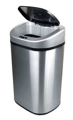 Touchless Trash Can Motion Sensor Automatic 21.1 Gallon Garbage Stainless  Steel #Ninestars