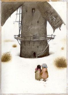 Začarovaný mlýn ; Ilustrace ; František Skála